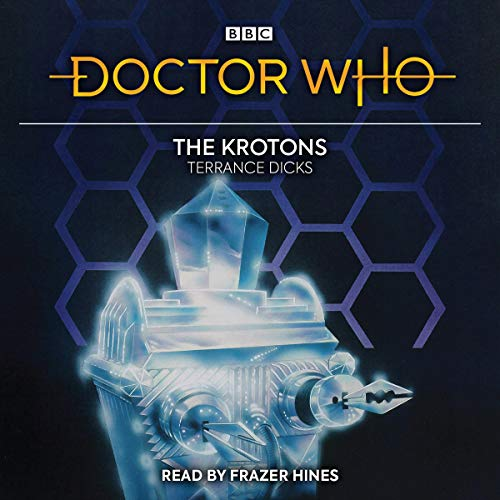 Doctor Who: The Krotons audiobook cover art