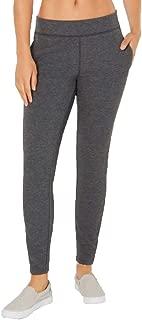 32 DEGREES Women's Fleece Leggings, Heather Charcoal, XX-Large