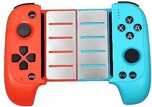 Gamepads Trådlös spelkontroll teleskopisk speljoystick kontroll kompatibel med Huawei blå röd