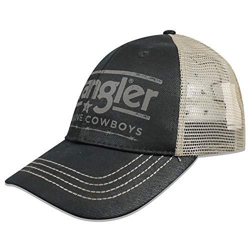 Wrangler Men's Baseball Cap, Black, ONE Size FITS Most