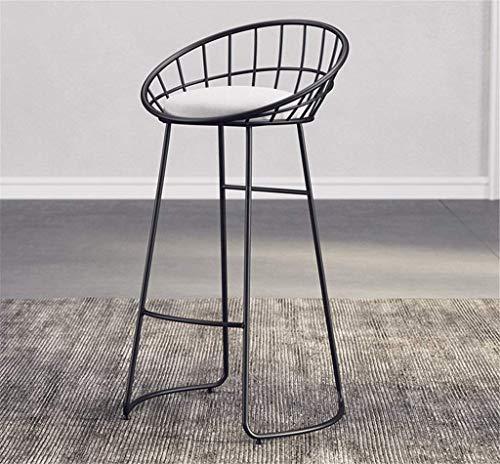 Schoenen, ijzer, schommelstoel, make-upstoel, met ronde rugleuning, sofa-stoel, opbergstoel, spons materiaal, oppervlak met kruk, slaapkamerkruk (kleur: C, maat: 65 cm) 65CM 10 Correas