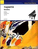 ED22853 輸入 ニコライ・カプースチン ソナチネ ピアノのためのOP.100 / ショット・ミュージック
