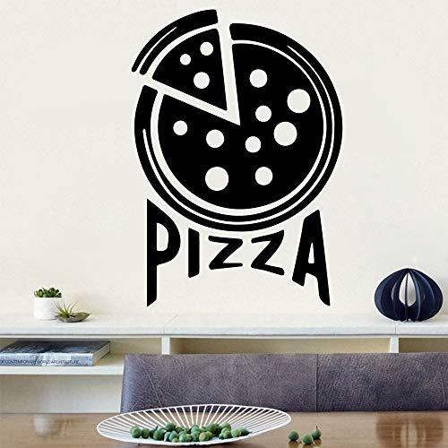 mlpnko Pizza Wandaufkleber Wandtattoo Aufkleber Raumdekoration Familienfestdekoration 30x42cm