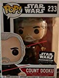 Funko Pop! Star Wars Smuggler's Bounty Exclusive Count Dooku #233 Vinyl Figure (Bundled with Pop Box Protector Case)