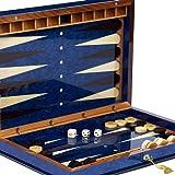 Bello Games Collezioni - Giovanni Luxury Wooden Backgammon Set from Italy 20'