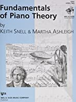 Fundamentals of Piano Theory Level 2