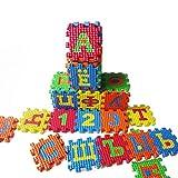 Pinhan Kinder Russische Alphabet Puzzle Schaum Spielmatten Teppich Spielzeug Baby Sprache Lernen Spielzeug Für Kindergarten Kindergarten Familie