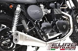 Triumph Thruxton Injected Model Zard Exhaust Full System + Low Short Muffler