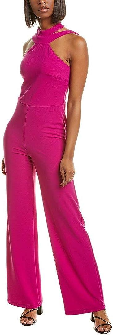 Regular discount bebe Women's Choker Jumpsuit Neck Under blast sales