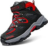 Boys Snow Boots Winter Waterproof Antiskid Boots Hiking Outdoor Shoes for Kids(Toddler/Little...