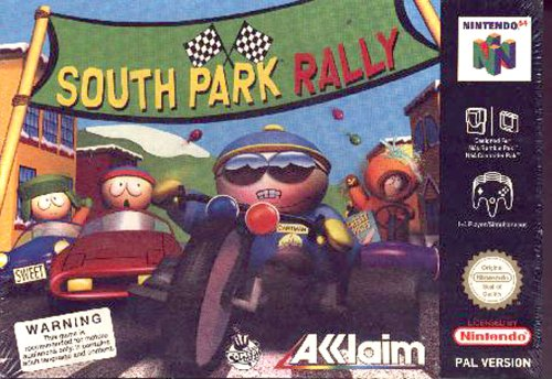 South park rally - Nintendo 64 - PAL