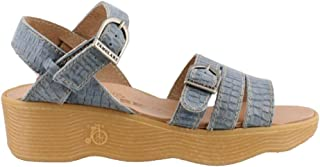 Famolare Women's, Honeybuckle Wedge Sandals