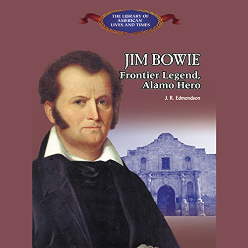 Jim Bowie audiobook cover art
