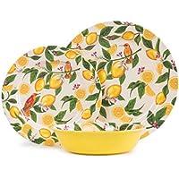 Aidio 12 Piece Melamine Dinnerware Set Service for 4