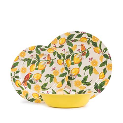Aidio 12-Piece Melamine Dinnerware Set Only $19.99 (Retail $39.99)