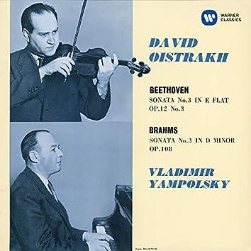 Beethoven: Violin Sonata No. 3, Op. 12 No. 3 - Brahms: Violin Sonata No. 3, Op. 108