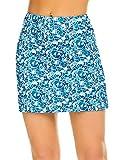 Ekouaer Running Skorts Golf Tennis Workout Skirt Plus Size Light Quick Dry Clothes for Women