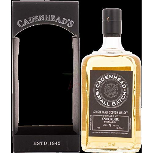 Cadenhead's KNOCKDHU 9 Years Old SMALL BATCH Single Malt Scotch Whisky 2010 (1 x 0.7 l)