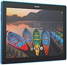 Lenovo Tab 10, 10-Inch Android Tablet, Qualcomm Snapdragon 210 Quad-Core 1.3 GHz Processor, 16 GB Storage, Slate Black, ZA1U0003US (Renewed)