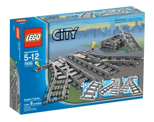 LEGO City Switch Tracks by LEGO