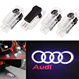 Luce per porta auto Logo Light,4 pezzi di luci per porte auto LED 3D Car Light Entry illum...