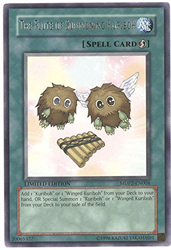 Yu-Gi-Oh! - The Flute of Summoning Kuriboh (MDP2-EN004) - McDonalds Promo...