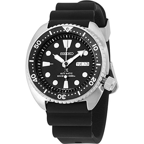 New Seiko SRP777 Prospex Automatic Black Rubber Strap Diver's Men's Watch