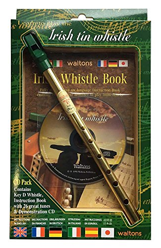 5. Waltons Irish Tin Whistle CD Pack