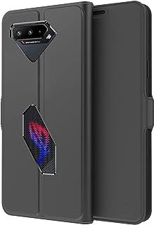 حافظة OIATROE لهاتف Asus ROG Phone 5، نحيفة للغاية، غطاء محفظة من جلد البولي يوريثين، إغلاق مغناطيسي، محفظة بغطاء قلاب من ...