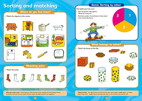 Maths Ages 3-5: Ideal for Home Learning (Collins Easy Learning Preschool)