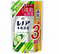 《セット販売》 P&G レノア 本格消臭 フレッシュグリーンの香り 超特大サイズ つめかえ用 (1320mL)×6個セット 詰め替え用 柔軟剤 【P&G】