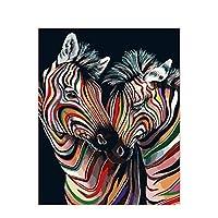 数字油絵 キャンバスの動物による油絵動物の動物枠なしのフレームのアクリルは大人を描くための写真塗装塗装塗装塗装芸術 (Color : 991533, Size(cm) : 50x65cm no frame)