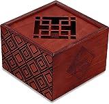 Secret Box Plum Blossom. Rompecabezas de Madera. Caja de Seguridad. Apertura Secreta.
