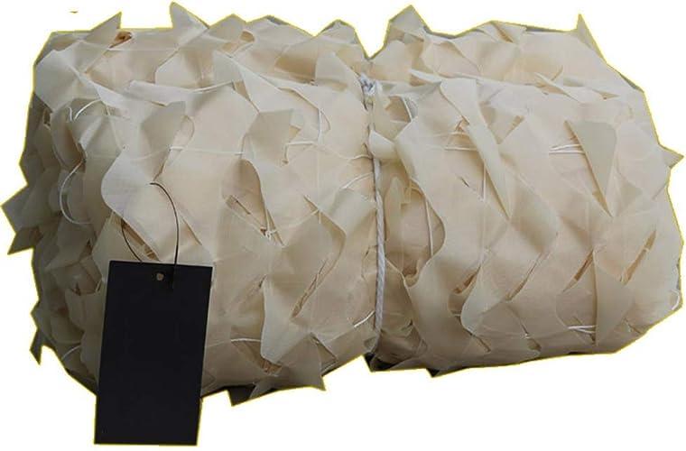 Filet d'ombrage ZXMEI Filet De Camouflage, Filet De Camouflage des Bois, Filet De Camouflage du Désert, Camping, Chasse, Tir, Décoration De Camouflage Cachée (Beige) (Taille   10x10m)