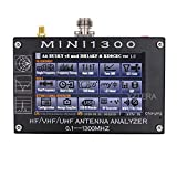 MINI1300 Antenna Analyzer 4.3in TFT LCD Touching Screen 0.1-1300MHz Frequency c