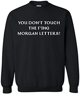 F'ing Morgan Letters Sweatshirt Shirt RHONY Real Housewives New York Bravo Sonja