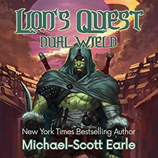 Lion's Quest audiobook cover art