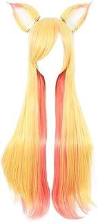 miccostumes Women's Ahri Cosplay Wig