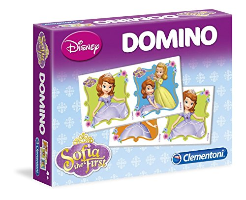 Clementoni - 13432-Domino Sofia-Jeu éducatif