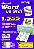 Word im Griff: 1555 Visitenkarten -