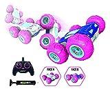 Exost – ferngesteuertes Auto – 360 Tornado Rosa – Stoßfeste Reifen – 2 Seiten und 360° – Spielzeug Maßstab 1:10 -