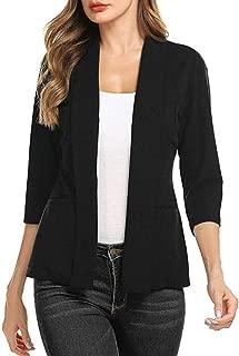 Women's Gorgeous Jackets,KIKOY Ladies Long Sleeve Lace Blazer Suit Casual Coat