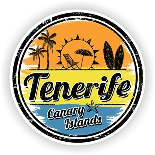 Tenerife For Baggage Travel Door Tablet Helmet Retro Metal Sign 12x12 Inch
