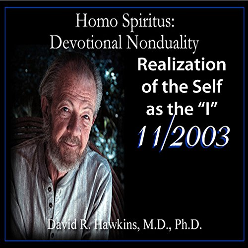 Homo Spiritus: Devotional Nonduality Series (Realization of the Self as the 'I' - November 2003) audiobook cover art