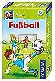 KOSMOS 711207 - Was ist was Junior Fußball, Das lustige Wissensspiel, Mitbringspiel für Kinder ab 5 Jahre