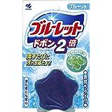 ブルーレットドボン2倍 トイレタンク洗浄剤 ブルーミント 120g