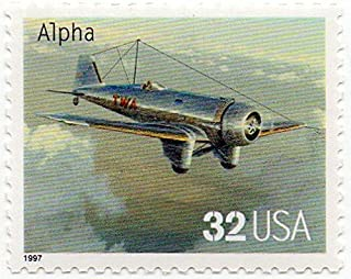 USA Postage Stamp Single 1997 Alpha Issue 32 Cent Scott #3142E