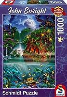 Versunkener Schatz Puzzle 1.000 Teile: Puzzle John Enright