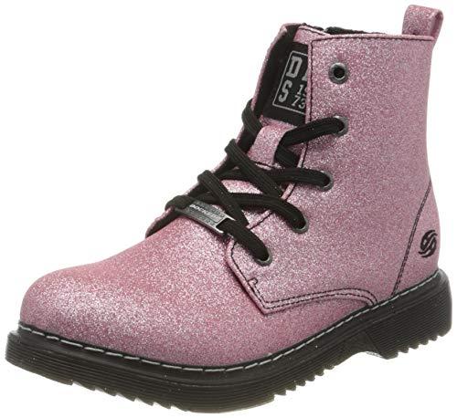 Dockers by Gerli Unisex Kinder Cuba Mode-Stiefel, pink ,34 EU