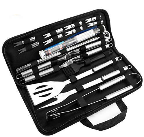 GolWof Barbecue Tools Set 25pcs Stainless Steel BBQ Grill Tools Set...